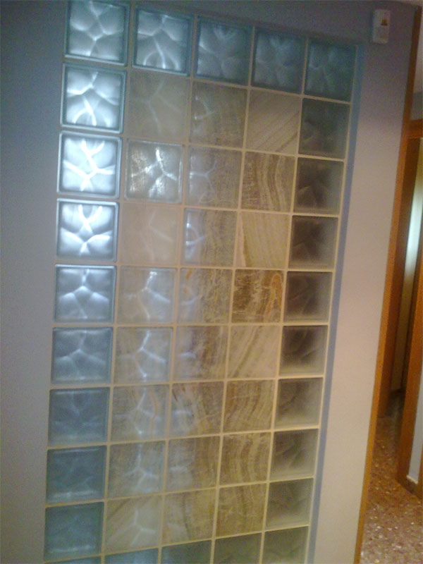 Pin paves de cristal bloque vidrio en madrid segundamanoes - Ladrillo paves ...
